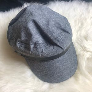 Time and True Grey Cabbie Hat one size